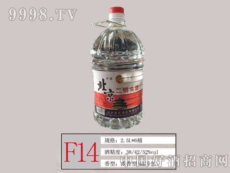 F14 北京二锅头酒2.5L桶酒