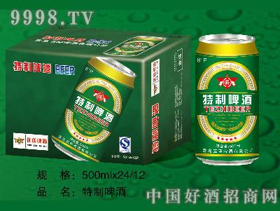 特制啤酒500ML12罐(易拉罐装)