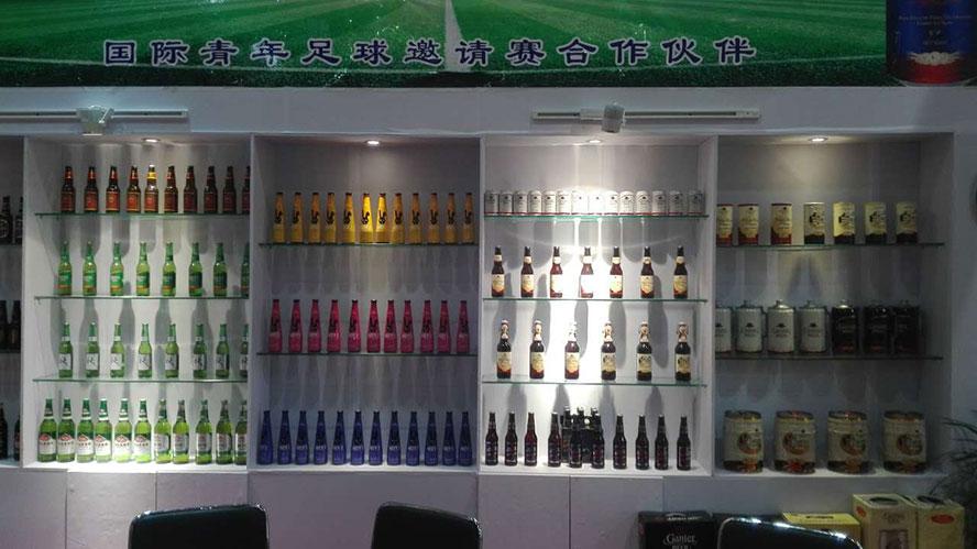 山东阳春啤酒有限公司,2015南京糖酒会参展图