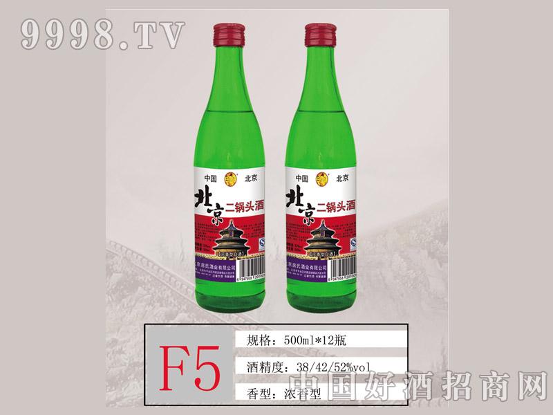 F5 北京二锅头天坛52度500ML