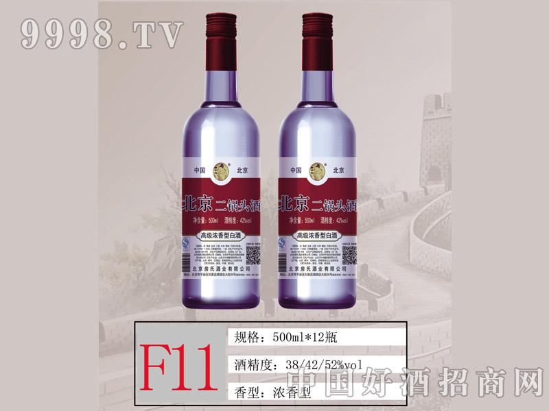 F11 北京二锅头高级浓香红标