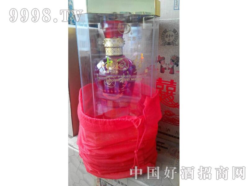 江苏洋河中国梦酒-水晶盒五星