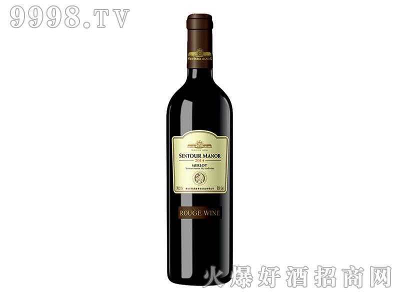 圣图酒堡.宝嘉龙干红葡萄酒黑标
