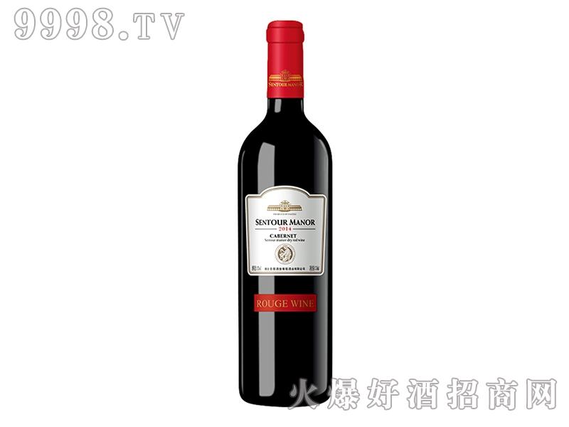 圣图酒堡.宝嘉龙干红葡萄酒红标