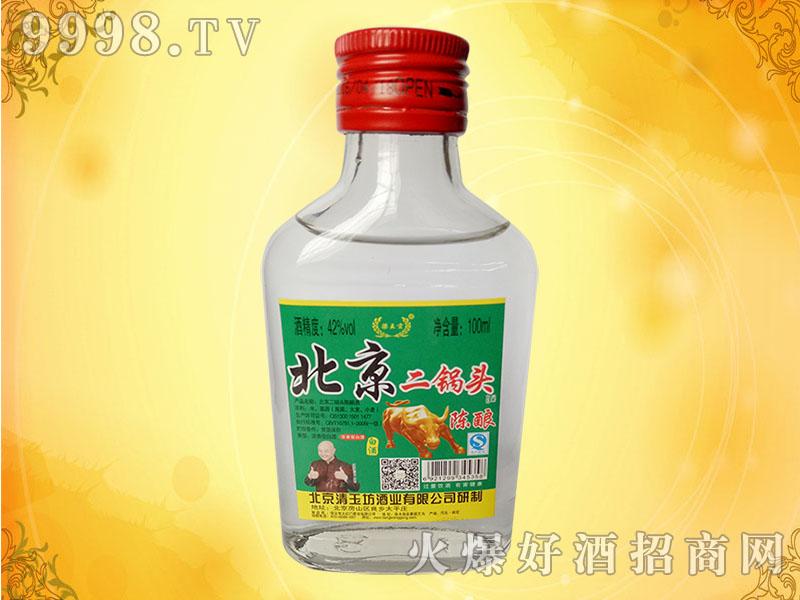 北京二锅头陈酿酒100mlX40瓶