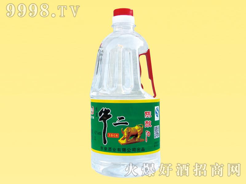 京皇牛二陈酿酒42度2L