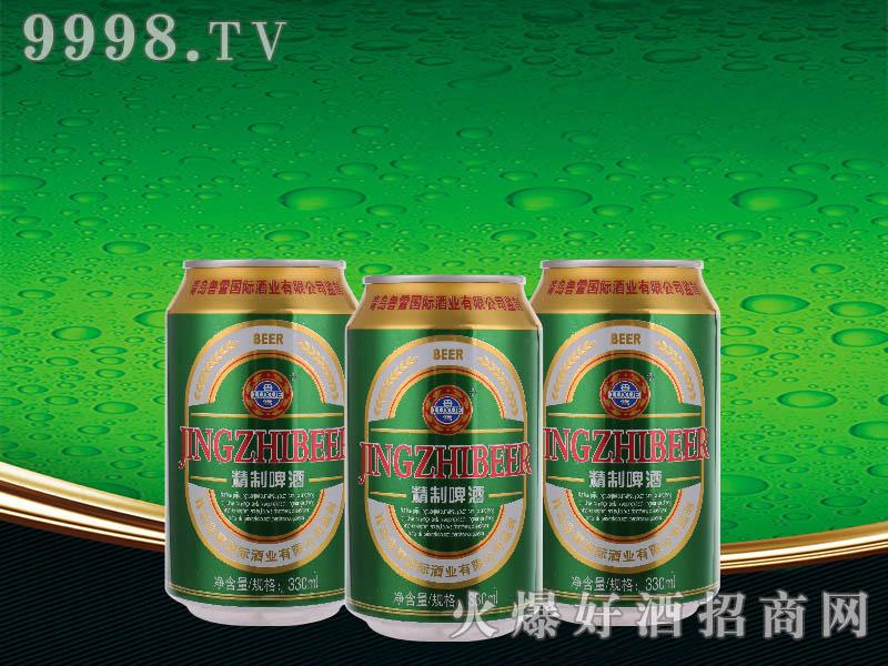 鲁雪精制啤酒8度