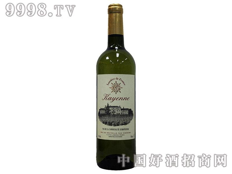 法国之光凯宴白葡萄酒