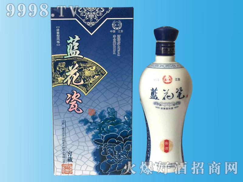 蓝花瓷窖藏酒