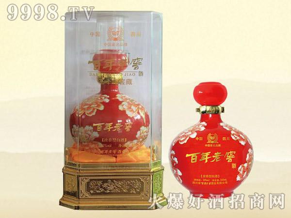 百年老窖酒(水晶盒六朵金花)LZ-04