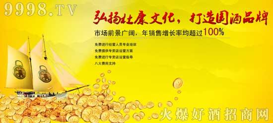 杜康国色天香 打造国酒品牌