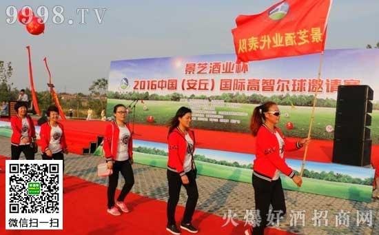 景芝酒业杯2016中国(安丘)国际高智尔球邀请赛举行