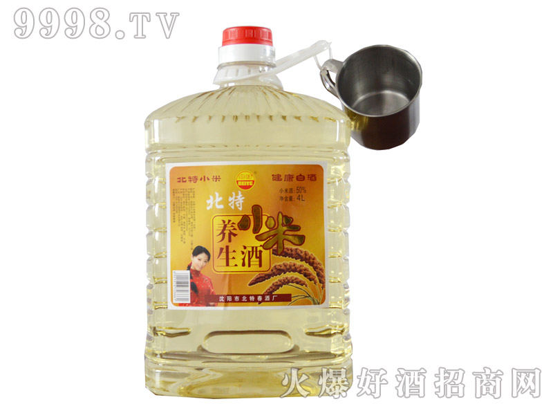 北特春小米养生酒4L