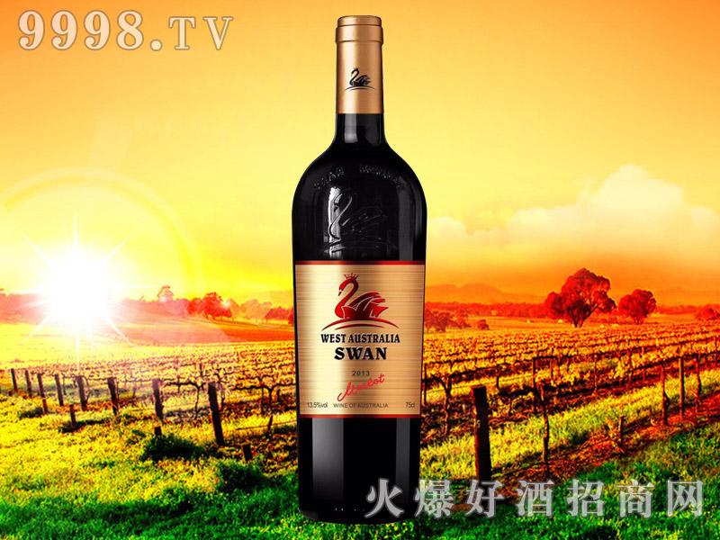 西澳・天鹅皇冠美乐干红葡萄酒