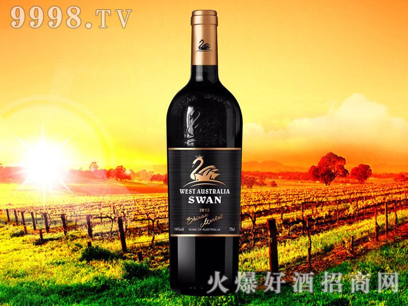 西澳・天鹅皇冠西拉美乐干红葡萄酒