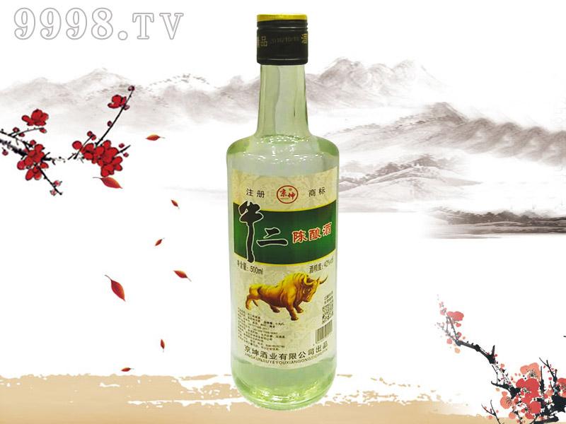 京坤牛二陈酿酒42°500ml