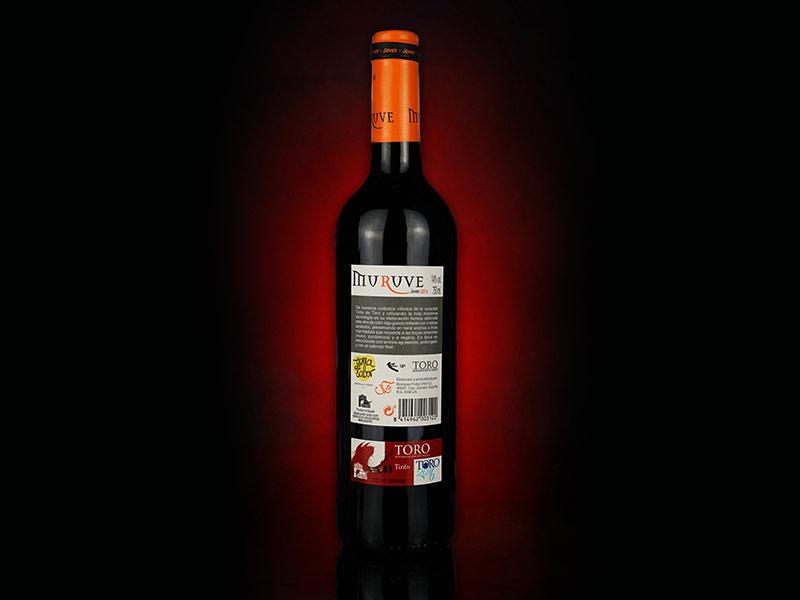 幕乐威年轻葡萄酒(背标)