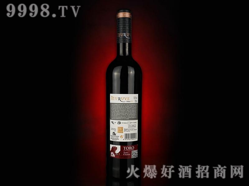 幕乐威陈酿葡萄酒(背标)