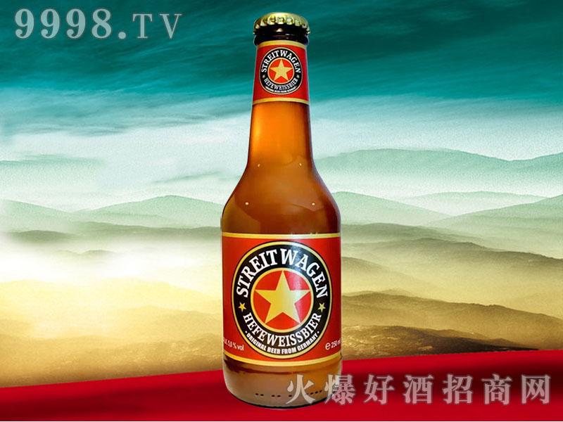 德国战车精酿小麦白啤酒