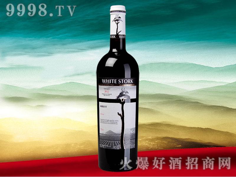 戈德卢白鹳2000年干红葡萄酒