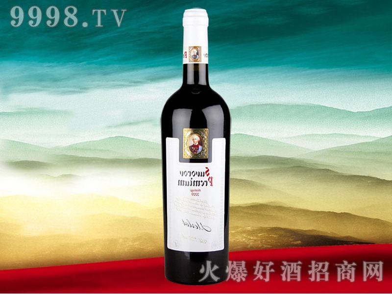 索洛夫将军2001年干红葡萄酒