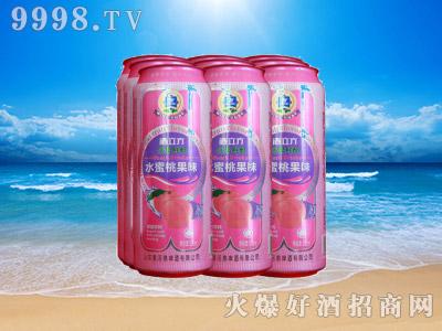 酒立方水蜜桃果味饮品