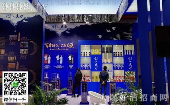 百年品牌诗仙太白亮相2017上海国际酒交会