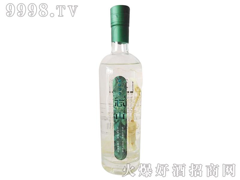 忘山东北高粱山参酒56%500ml