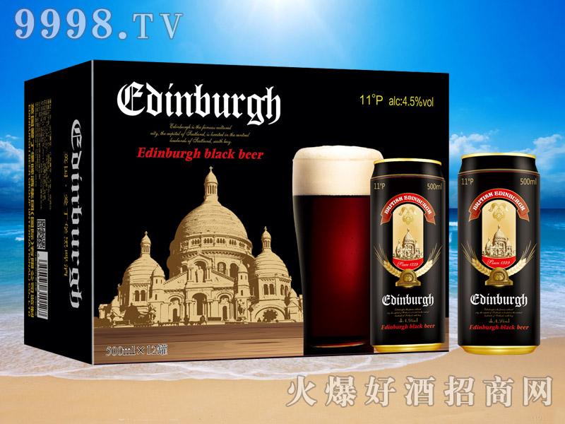 英国爱丁堡黑啤11°500ml
