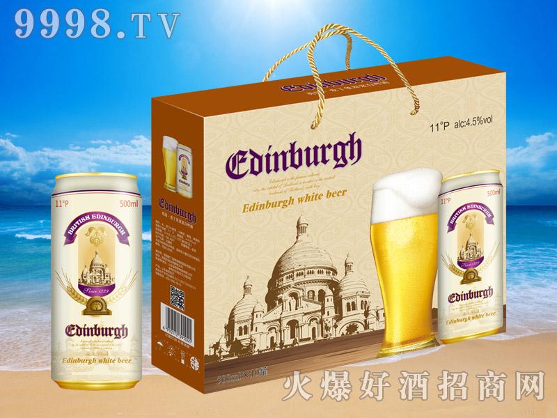 英国爱丁堡原浆白啤酒11°500ml×10