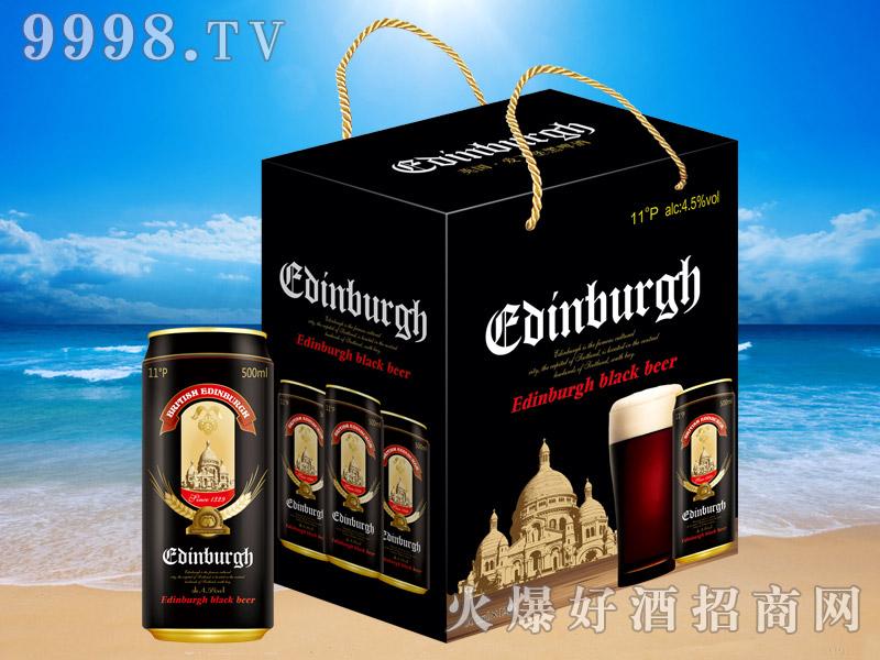 英国爱丁堡黑啤11°500ml×12