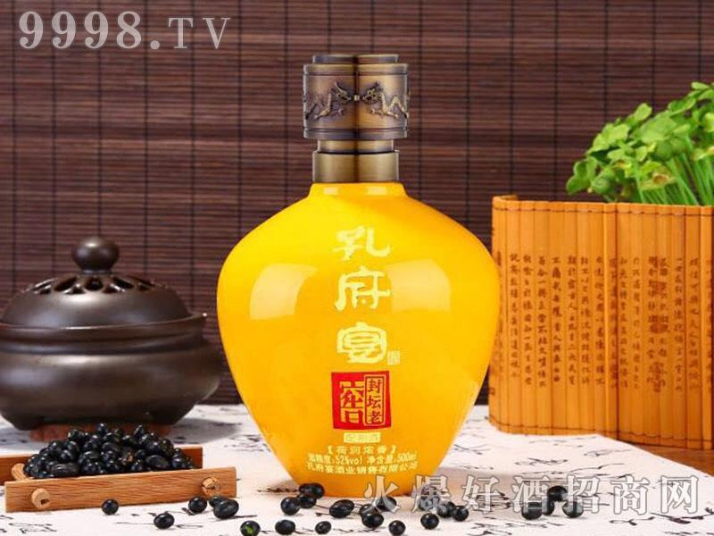 孔府宴酒-封坛老窖(黄)