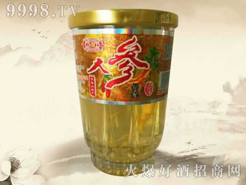东北蒙人参枸杞酒(口杯)