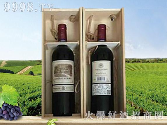 拉菲古斯波朗干红葡萄酒(木箱木礼盒)