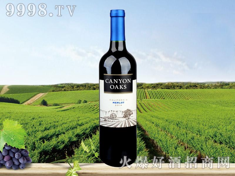 峡谷橡树2014葡萄酒
