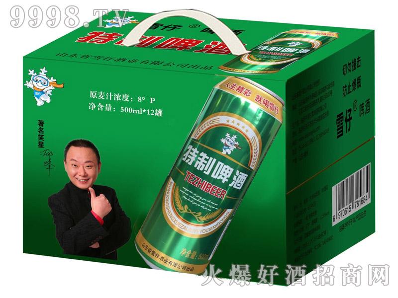 雪仔特制啤酒500ml(箱)