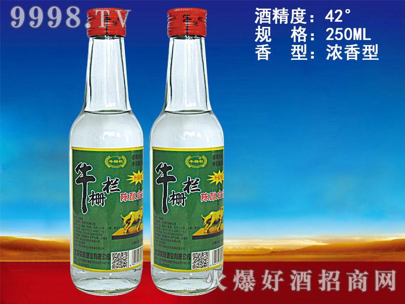 牛栅栏陈酿白酒升级版250ml