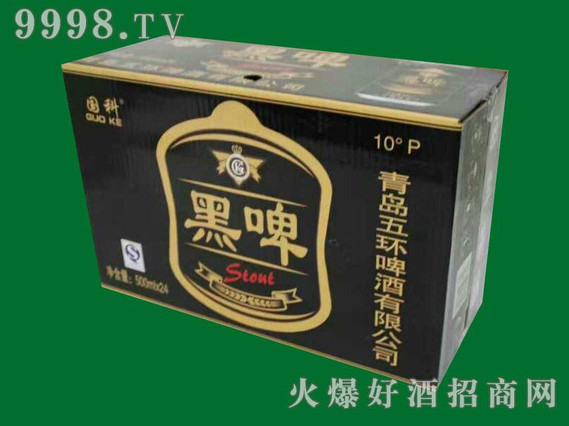 国科10度黑啤500mlx24