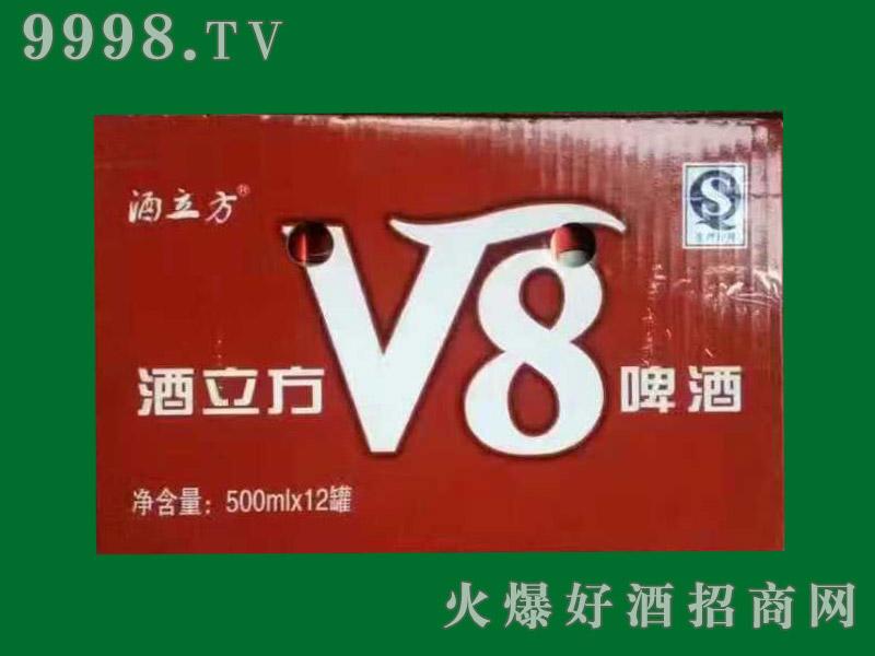 酒立方V8啤酒500mlx12