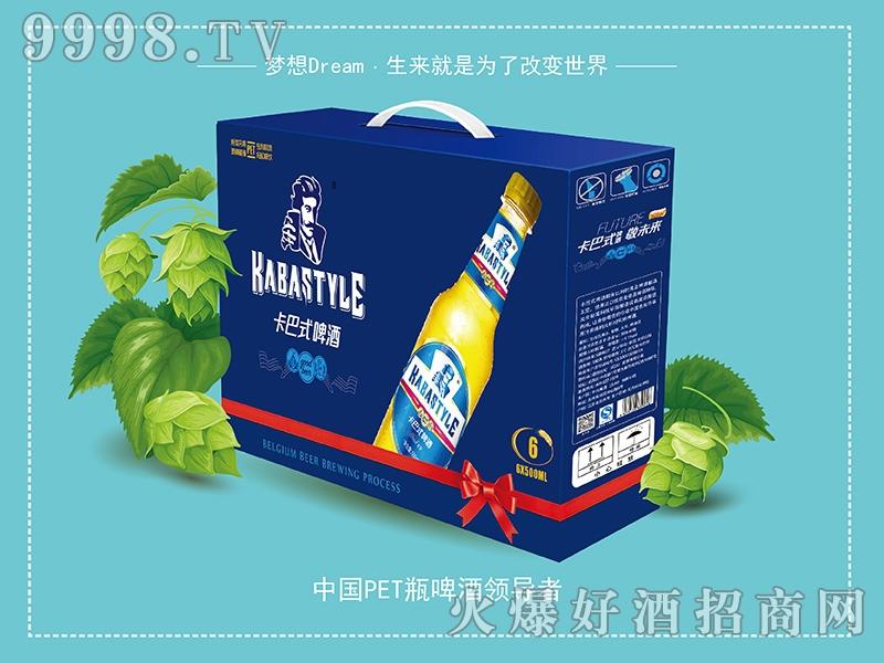 卡巴式啤酒蓝卡礼盒装 6x500ml
