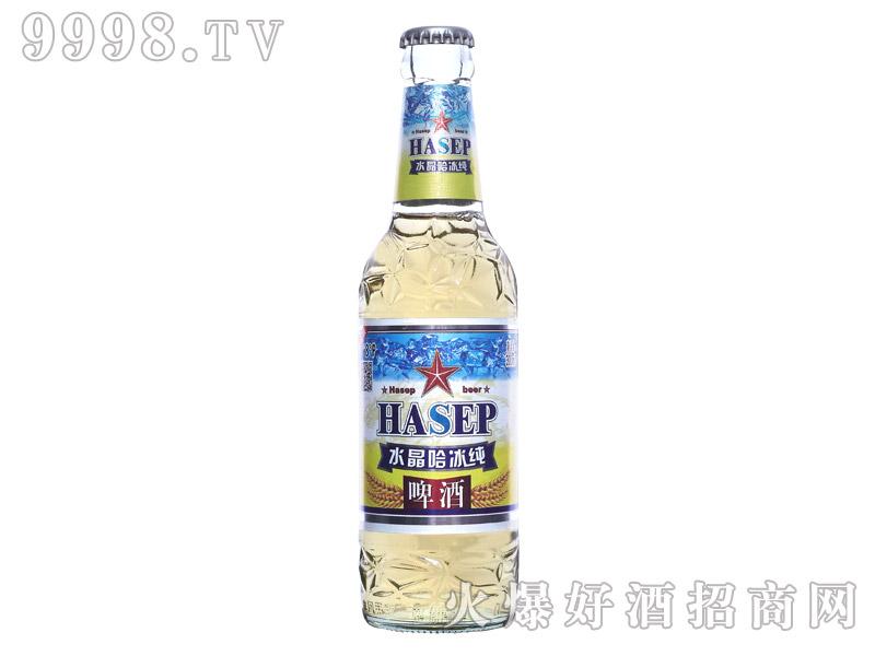 水晶哈冰纯啤酒300ML