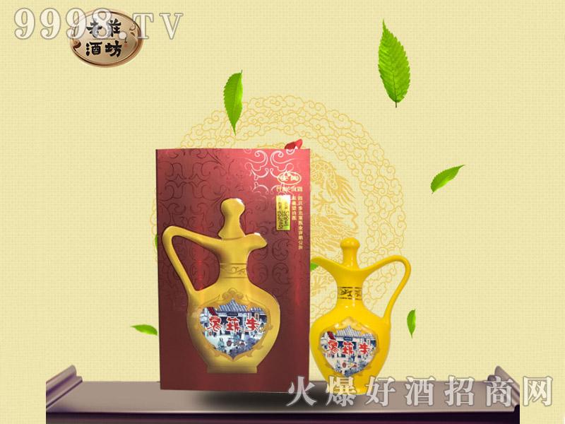 老庄酒坊・红礼盒半斤装(52°)