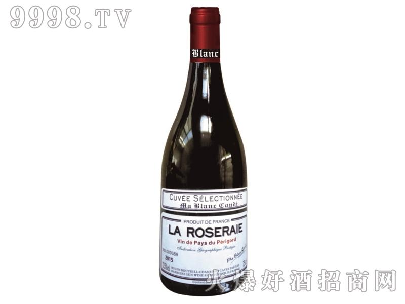 白马康帝玫瑰园干红葡萄酒