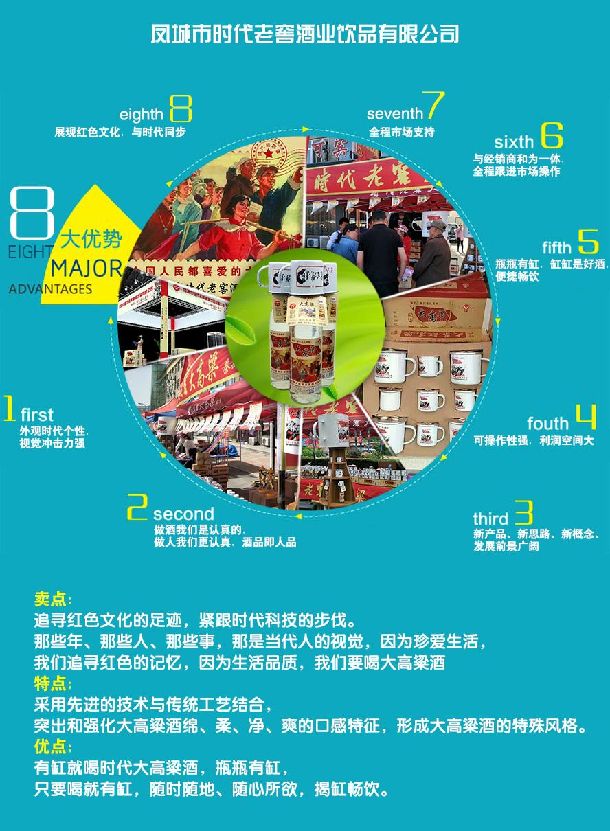 凤城市时代老窖酒业饮品有限公司产品八大优势
