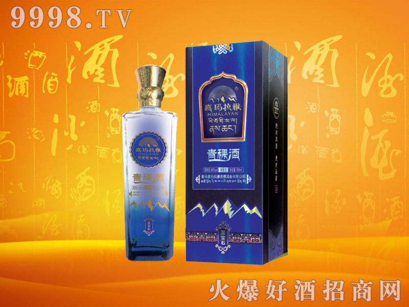 喜玛拉雅青稞酒蓝宝石53度500mlx6瓶