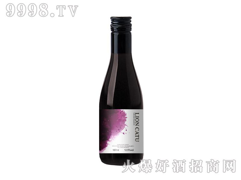狮卡图美乐干红葡萄酒187ml