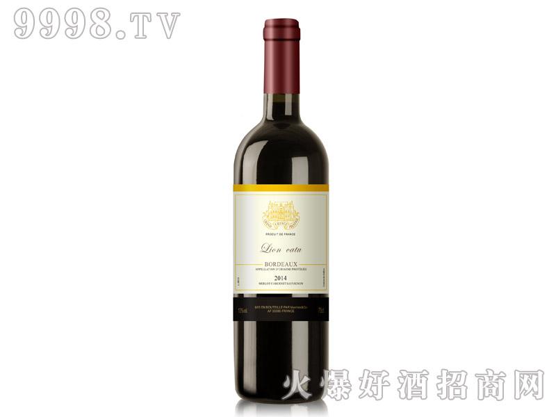 狮卡图干红葡萄酒2014
