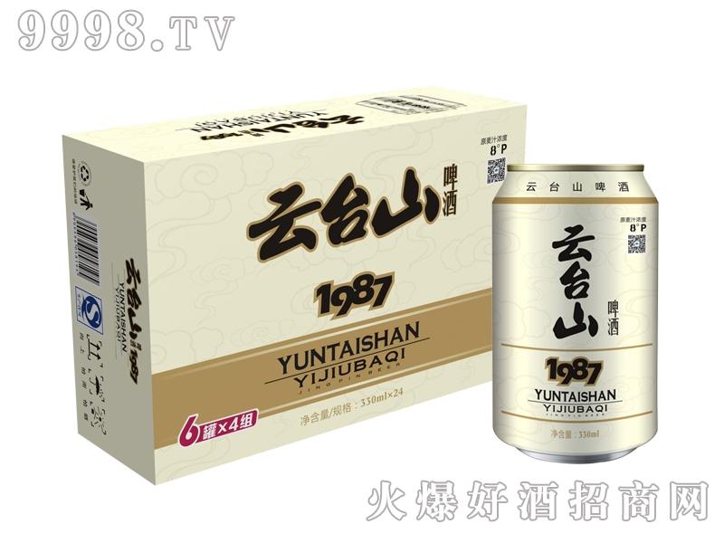 云台山啤酒8度1987箱装