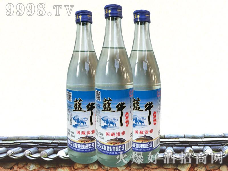 蓝牛陈酿酒・国藏淡雅