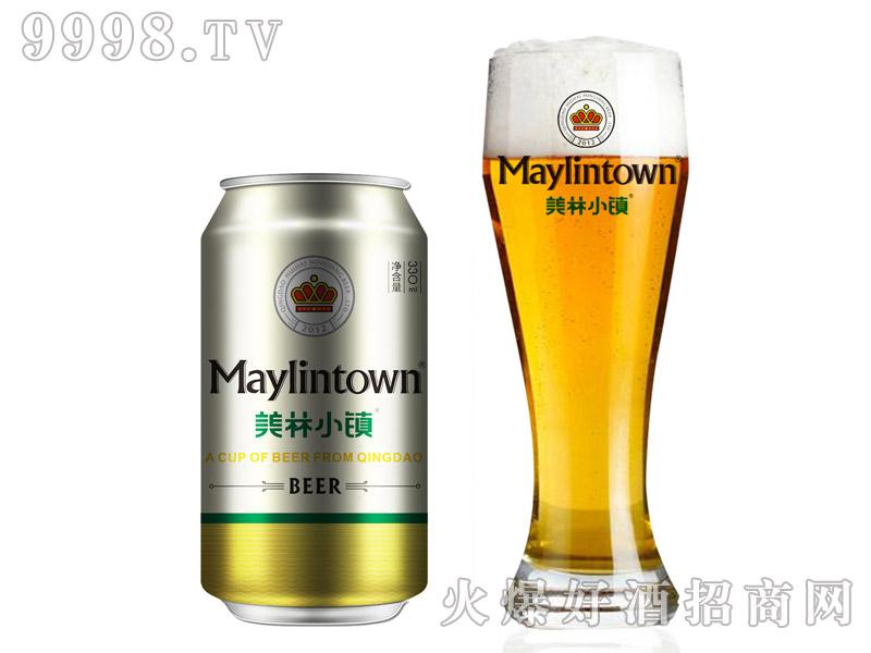 330ML美林小镇啤酒金罐装